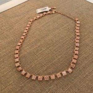 """Vera Bradley Rose Gold """"Casual Glam"""" Necklace"""